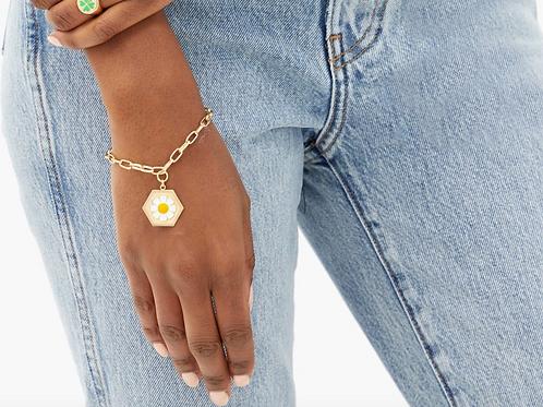 Bracelet en vermeil 18 carats Daisy WILHELMINA GARCIA