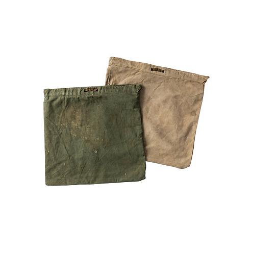 Housse de Coussin Toile Militaire Vintage Puebco