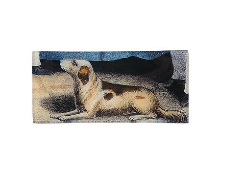 "Assiette decorative ""A Dog's View"" John Derian"