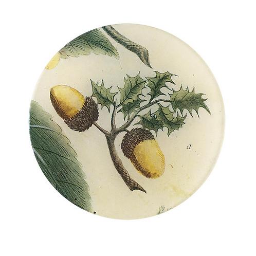 """Assiette décorative """"Acorns"""" 13cm John Derian"""