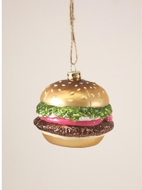 Décoration de Noël Hamburger