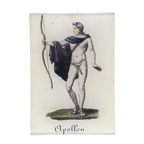 """Assiette décorative """"Appollon"""" John Derian"""