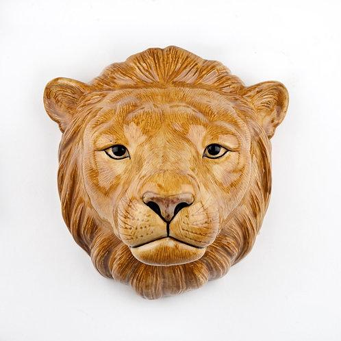 Vase mural Lion