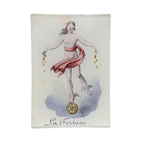 """Assiette décorative """"La Fortune"""" John Derian"""