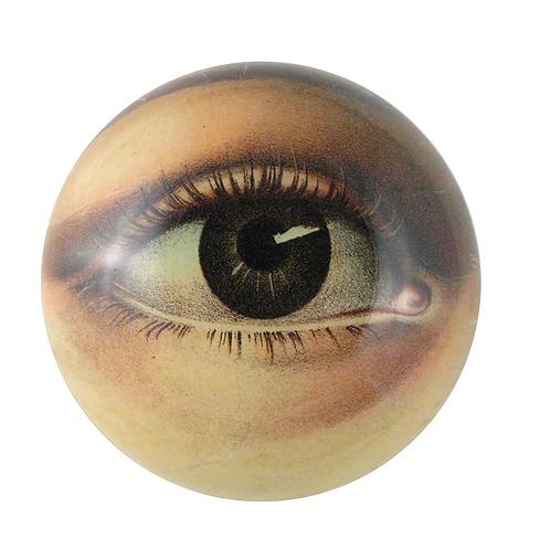 "Assiette décorative convexe  ""Eye bowl (right)"" John Derian"