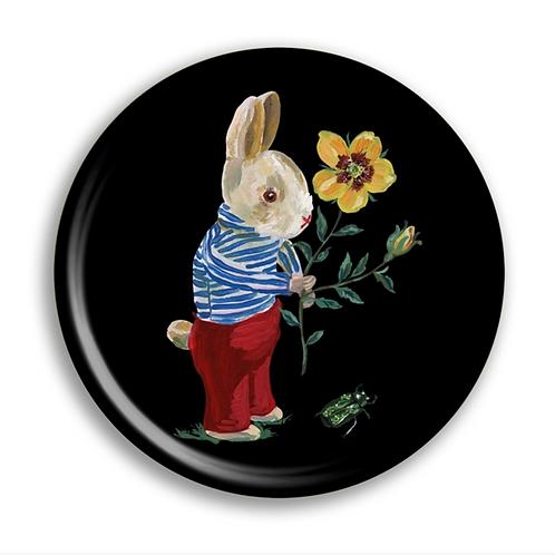 """Plateau rond """"Bunny""""Nathalie Lete pour Avenida Home"""