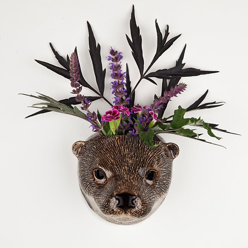 Vase mural Loutre