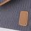 Thumbnail: Enveloppe M Fine Stripes - Navy Rue De Verneuil