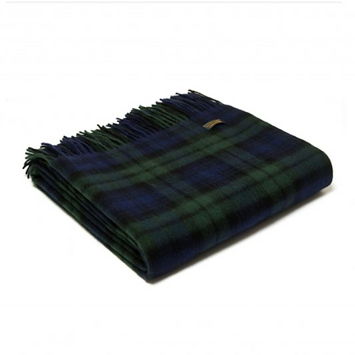 Plaid Lambswool Blackwatch