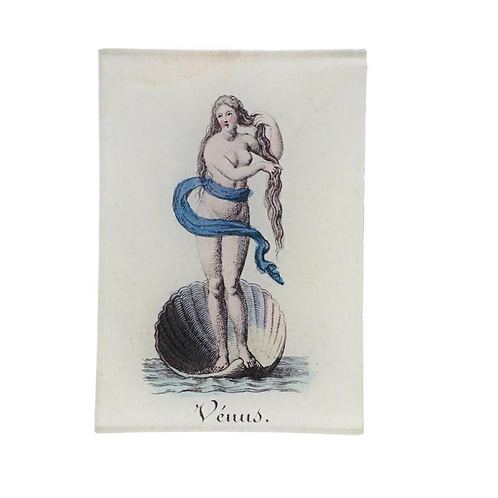 "Assiette decorative ""Venus"" John Derian"