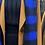 Thumbnail: Echarpe à carreaux bleu royal