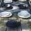 Thumbnail: Wabi Noir Assiette Creuse Jars Céramistes