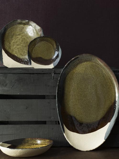 Wabi Seidou assiettes et plat Jars Ceramistes