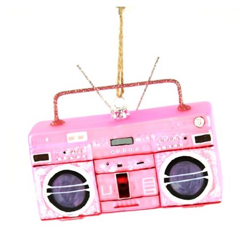 Décoration de Noël Poste de radio