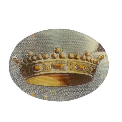 """Assiette ovale """"Crown"""""""