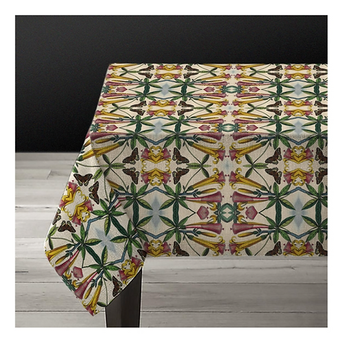 """Nappe rectangulaire """"yellow flower"""""""