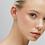 Thumbnail: Boucle d'oreille gold vermeil 18 kt marguerite Wilhelmina Garcia