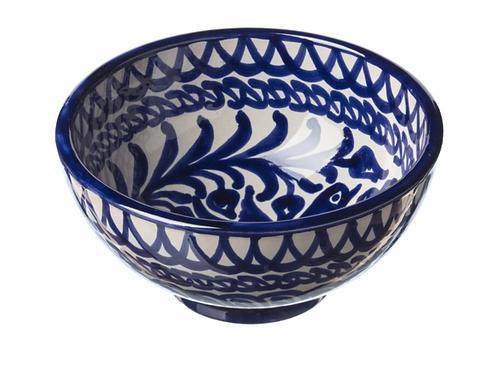 Bol en Céramique Bleu Casa Lopez