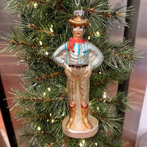 Décoration de Noël Cowboy