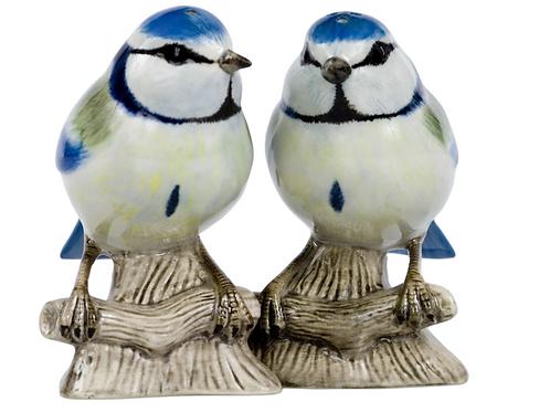 Salière Poivrière mésange bleue
