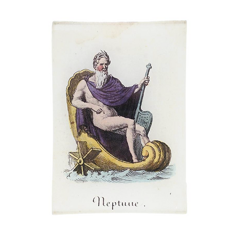 "Assiette decorative ""Neptune"" John Derian"