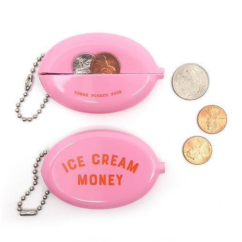 "Porte monnaie  ""Ice cream money"""
