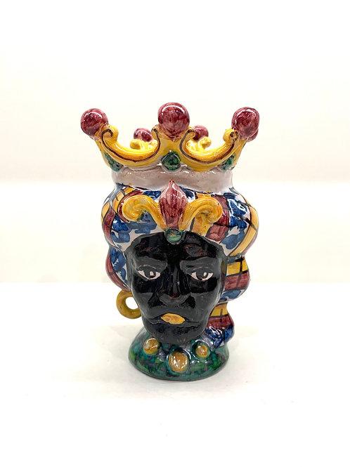Mini vase tête sicilienne