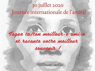 30 juillet 2020 - journée internationale de l'amitié.