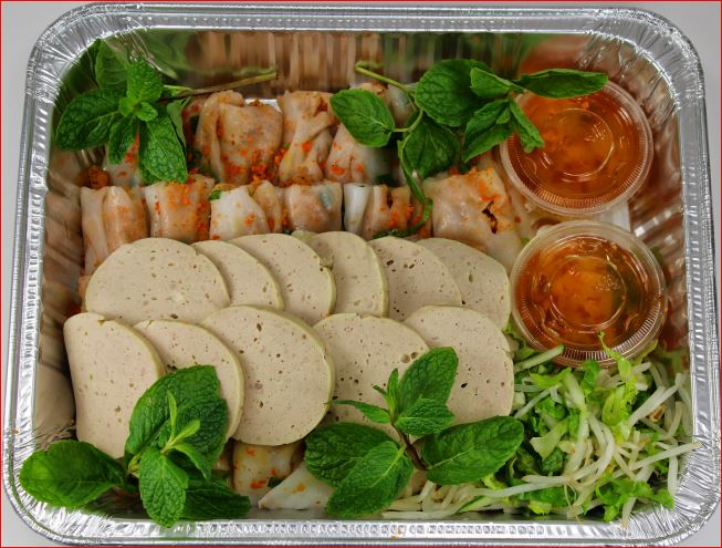 F4 - Bánh Cuốn Tôm & Chả Lụa