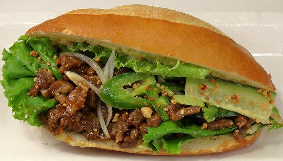14. Sườn Bò Đại Hàn - Korean B.B.Q. Beef (Peanut)