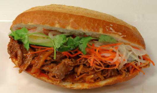 19. Korean Beef Sandwich $ 4.25