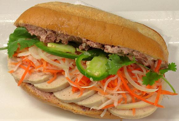 16. Pâté Chả Lụa - Pate & Steamed Pork