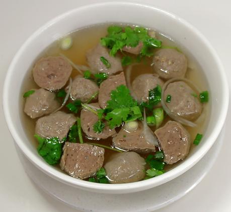 18. Soup Bò Viên  $6.95 - $7.95