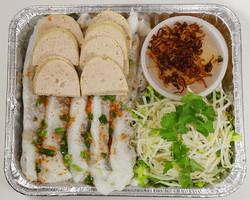 F2 - Bánh Cuốn Thịt Chả Lụa $18.00