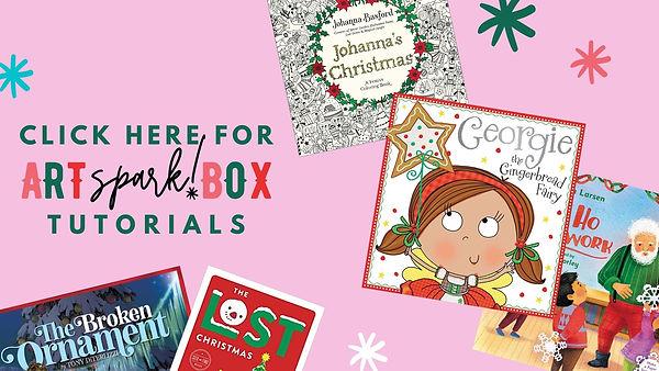 holiday artspark box tutorials