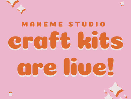 craft kits are now live!