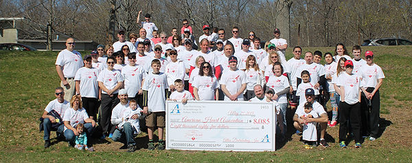 2015 Heart Walk participants