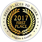 Telegram & Gazette Best Places to Work 2017 award