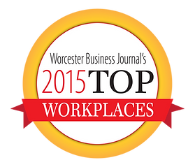 Worcester Business Journal 2015 Top Workplace Award
