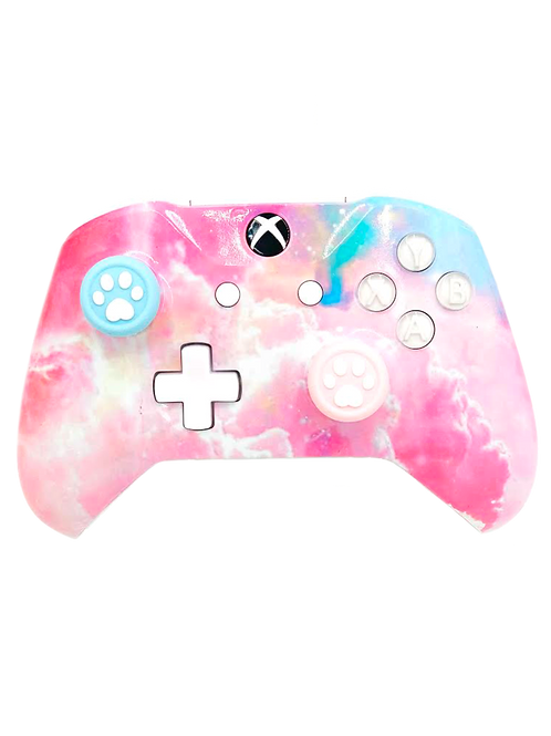 Pastel Clouds (Includes thumb-stick grips)