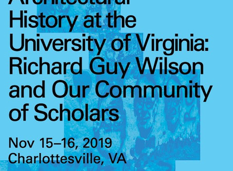 RIchard Guy Wilson Symposium at UVA
