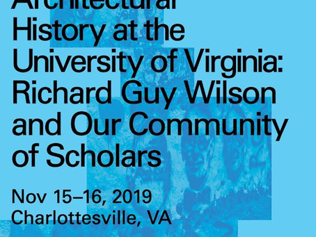 RIchard Guy Wilson Symposium at UVA