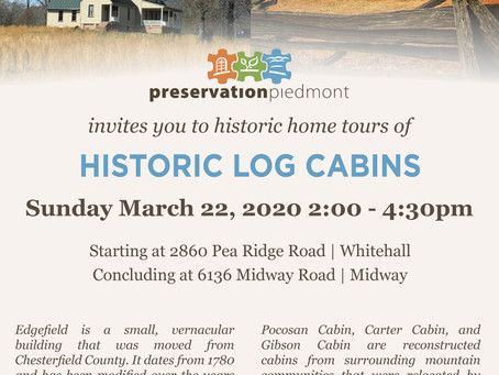 Historic Log Cabins  Tour