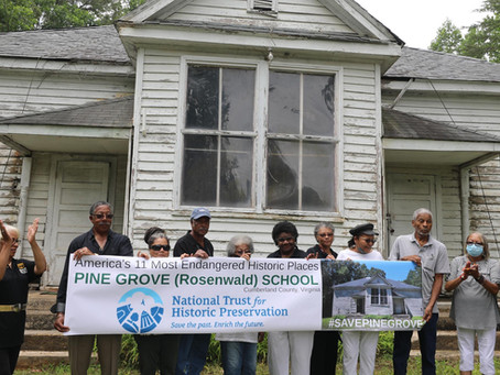 Save the Pine Grove School Community - a Letter to the Army Corps