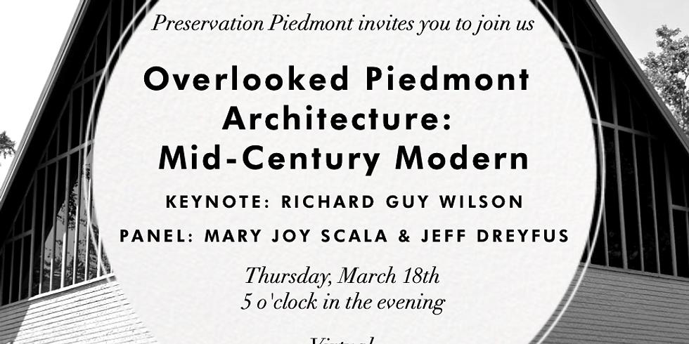 Overlooked Piedmont Architecture: Mid-Century Modern