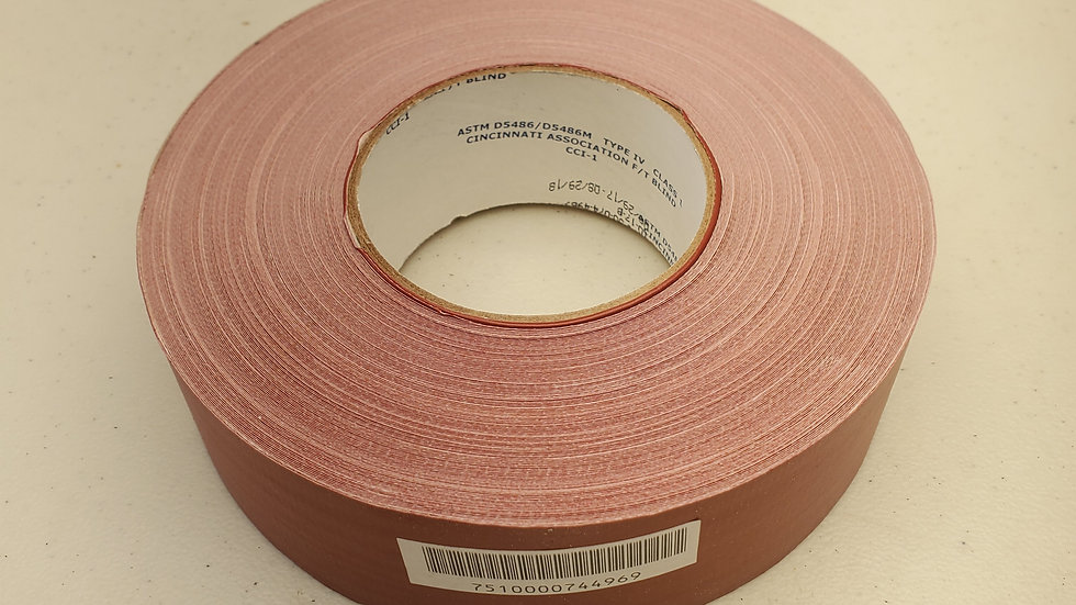 Ability One 7510-00-074-4969 Waterproof Red Duct Tape. Woven Cloth!
