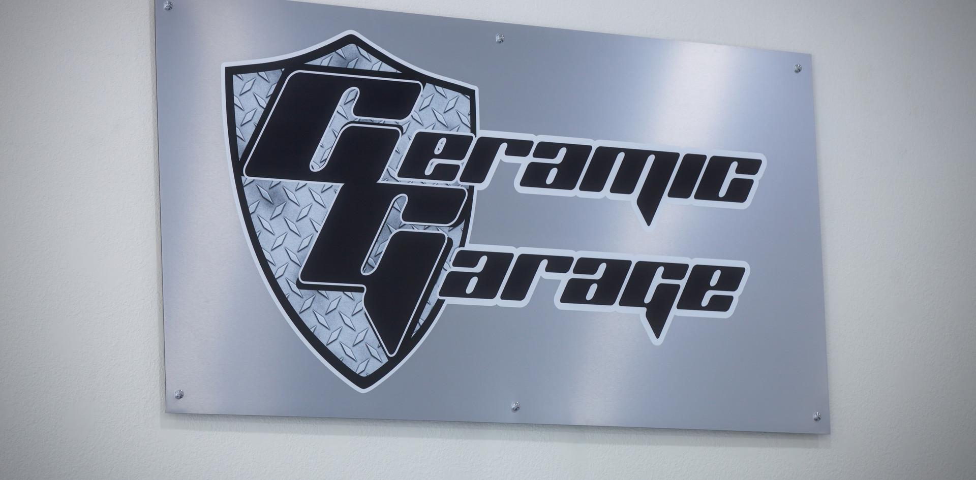 Ceramic Garage Logo