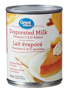 Great Value Evaporated Milk