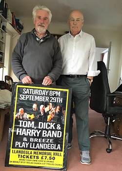 R&H with Poster