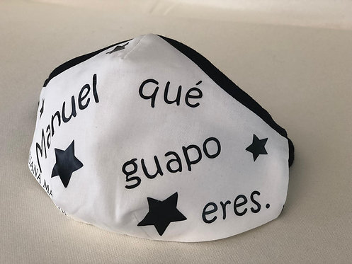 Mascarilla niñ@s Estrellas